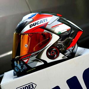 SHOEI X14 X-Spirit 3 Motorcycle Full Face Helmet Marquez Moto GP Helmet Ducati
