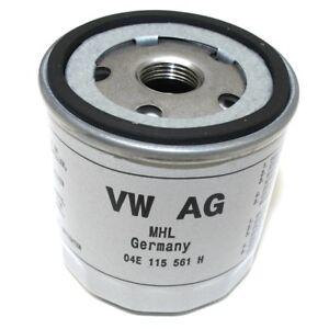 Original VW Audi Ölfilter Filtereinsatz Ölwechsel TSI Motorölfilter 04E115561H