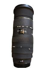 Sigma EX APO HSM 50-500mm f/4-6.3 APO Lens For Canon