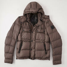 NWT $1125 BELSTAFF 'Conway' Hooded Quilted Down Puffer Jacket M/L (Eu 50) Coat