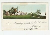 VINTAGE POSTCARD MT. VERNON, HOME OF WASHINGTON, VA., 1903 POSTMARKED.