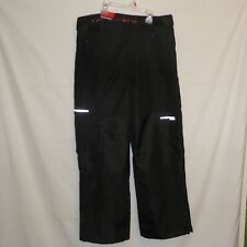 NWT Men Black MEDIUM Snow Stormpack Sunice Snow SKI Pant NEW Fleece Inside Cargo