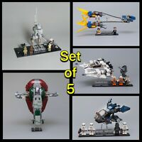 Acrylic Display Stands for LEGO Star Wars 20th Anniversary sets
