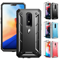 For OnePlus 6 | Poetic [Dust Resistant] Rugged Shockproof Case Cover