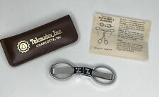 The Original Slip-N-Snip Scissors Stainless Steel USA Made  Instructions & Case