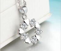 925 Sterling Silber Anhänger Damen Schmuck für Halskette Geschenk Schnee FERANI