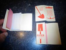 1 Pochette de Papier à Cigarette publicitaire Pelles & Pioches Perrin Tilchatel