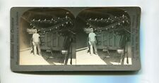 Vintage Stereoview HAWAII SUGAR CANE MILL UNLOADING CANE Keystone