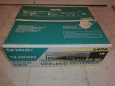 Sharp dv-rw260s Dvd-Recorder/VHS-Video Recorder, ovp&neu, 2 ANNI GARANZIA