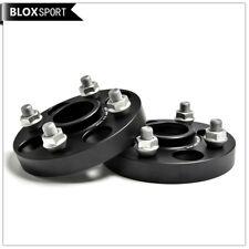 2x25mm 4 Lugs Wheel Spacers 4x100 CB54.1 for Mazda 2 MX3 MX5 Corolla MR2 Yaris