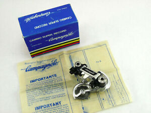 Campagnolo Super Record Rear Derailleur Titanium Vintage Bike 1984 B NOS