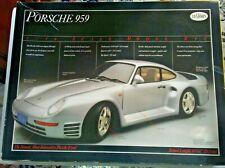 "1988 Vintage Porsche 959 Model 1/16 Testors Fujimi>W/Boxes&Instructions>10 7/16"""