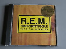 R.E.M. REM Shiny Chatty People 2 x CD Man on the Moon New