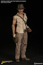 "Indiana Jones The Temple of Doom 12"" figure Sideshow Collectibles 1/6 SCALE NEW"