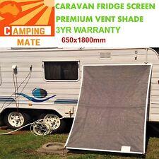 Caravan Fridge Shade screen superior Premium Vent screen 650x1800mm 100% Aussie