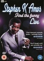 Stephen K Amos: Find the funny: Live (DVD, 2008)