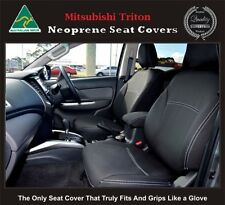 Mitsubishi MN Triton Premium Neoprene Waterproof FULL-BACK FRONT Seat Covers