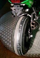 Support de plaque z1000 Kawasaki Z 1000 2010 2011 2012 2013 MADE IN FRANCE