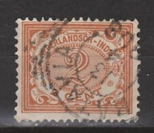 Nederlands Indie Netherlands Indies Indonesie 101 TOP CANCEL BATAVIA Cijfer 1912