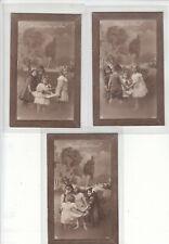 More details for postcard (1) 1900s  set of six children cards