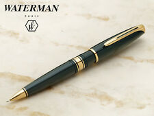 WATERMAN CHARLESTON  GREEN    LACQUER & GOLD 0.5mm   PENCIL NEW IN BOX