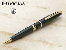 Waterman Pencil Charleston  Green   Lacquer & Gold 0.5mm   Pencil  In Box *