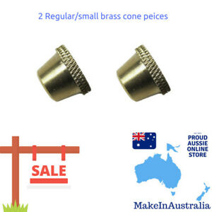 2 x Regular Brass Cone Pieces for Billy - Free n Fast Shipping