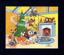 Sierra Leone - 1992 - Disney - Christmas - Donald - Chip - Angel + Mint S/Sheet!