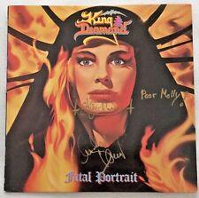 """Autographed King Diamond """"Fatal Portrait"""" Vinyl"""
