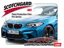 2016-2018 BMW M2 3M Pro Series Clear Bra Deluxe Paint Protection Kit