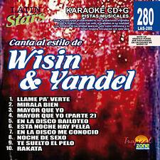 Karaoke Latin Stars 280 Wisin & Yandel Vol.1