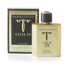 TERRITOIRE GOLD 79 PERFUME FOR MEN 3.4 OZ (100 ML) BRAND NEW 100% ORIGINAL