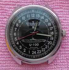 Rare Russian Mechanical Watch Raketa 24 Hours Cal 2609 Made in Russia #1612141