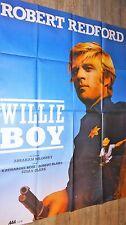 WILLIE BOY ! robert redford   affiche cinema western