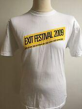 EXIT FESTIVAL 2009 SERBIA T Shirt Size L LARGE Kraftwerk Arctic Monkeys Korn