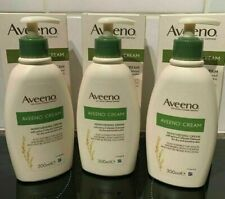 3 Pack Aveeno moisturising lotion/cream for dry & sensitive skin (300ml)