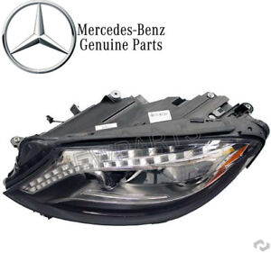 For Mercedes W222 S550 S600 Driver Left Headlight Assembly Genuine 222 820 77 61