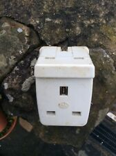 Plug Socket Double Adapter Mk