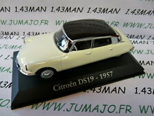 voiture 1/43 RBA Italie IXO : CITROËN DS 19 1957 bicolore