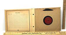 9 Vintage 1940s Jazz Big Band 78 RPM Vinyl Records Decca Majestic Harmonia+Album