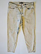 JOE FRESH {Size 8} Slim Low Rise Zipper Ankle Acid Wash Stretch Jeans EXCELLENT!