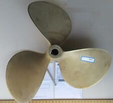 """Reconditioned, Balanced Nibral 33"""" x 30P Boat Propeller, 2-1/4"""" Bore RH Rotation"""