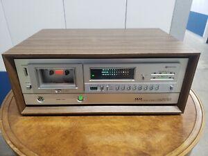 Akai Vintage Wood Box Cassette Deck-GX-F60R