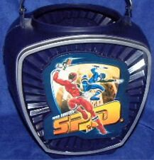 Power Rangers SPD Blue Candy Bucket Costume  Blue and Red Ranger New  2005