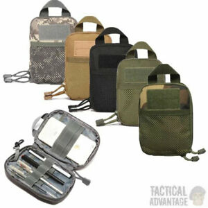 Molle Utility Admin Tool Pouch Belt Bag Army Military Wallet Holder Medic UK