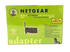 Netgear 32bit PCI Adapter FA312. Wake-On-Lan. Works w/ Windows XP