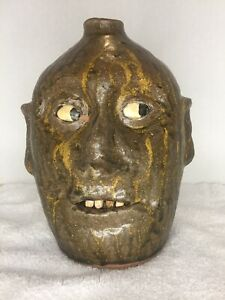 Reggie Meaders Face Jug