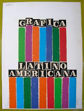 Antonio Frasconi Serigrafia Serigraph Grafica Latinoamericana Puerto Rico 1970
