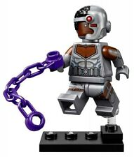 LEGO DC Super Heroes CMF Cyborg With Base and Accessories Minifigure New