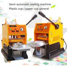 220V Automatic Electric Bubble Tea Cup Sealing machine Fruit Juice Cup Sealer